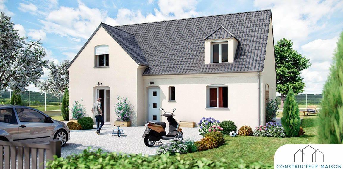 Maison Traditionnelle etage - helliere