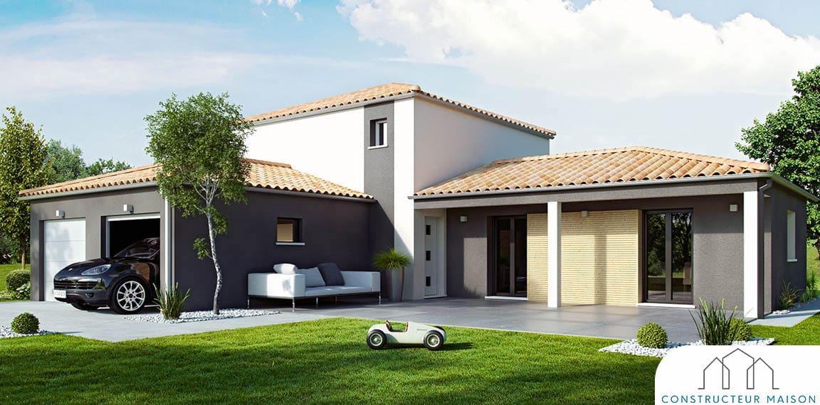 Maison a etage provenciere