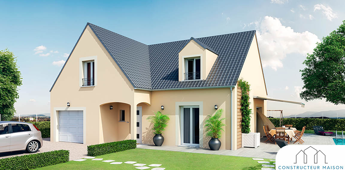 Chaceni re maison familiale tage - Modele maison familiale ...