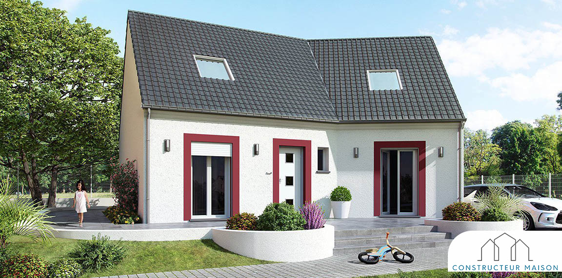 maison traditionnelle etage - versiere