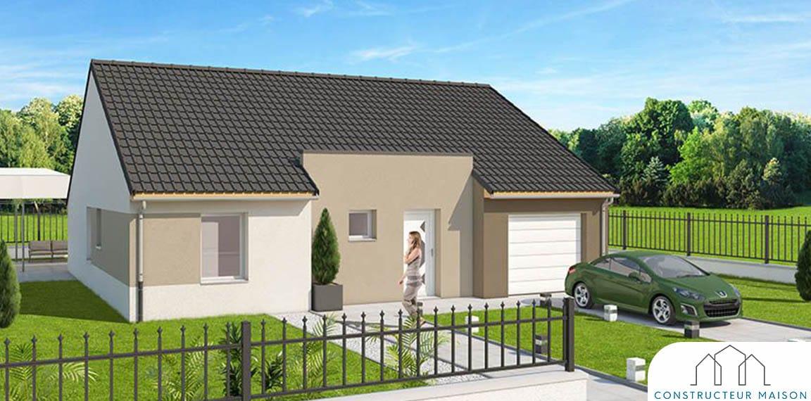 Maison design robinson grise