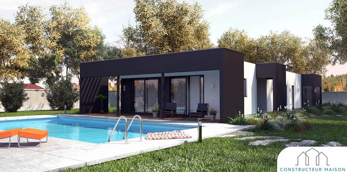 maison contemporaine - linea