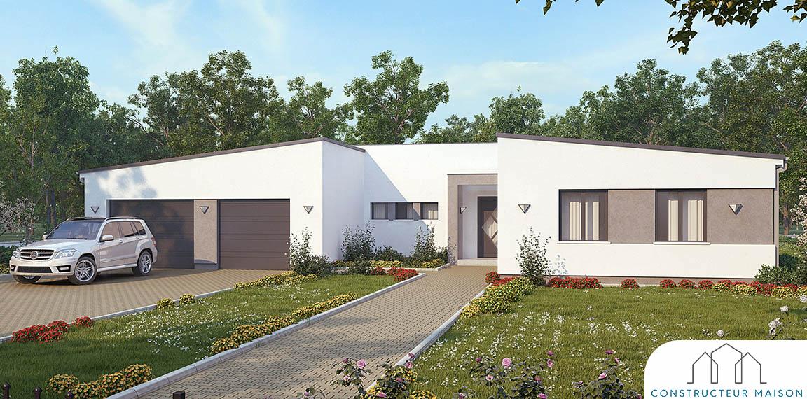 Maison contemporaine Erikium